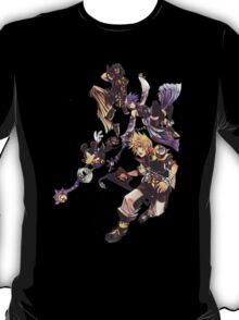 Kingdom Heart Birth by Sleep - Terra, Aqua, Ventus and Mickey Mouse T-Shirt