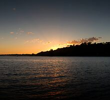 Sunset over Kings Park - full pano by palmerphoto