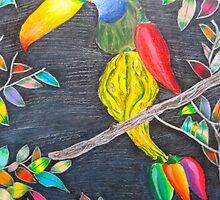 Toucan Gourd by Alexa Del Piano