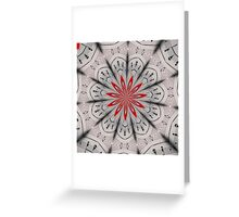 Our Tune Abstract Greeting Card