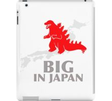 Funny Nerdy Godzilla - Big in Japan iPad Case/Skin