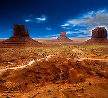 Monument valley by cgarphotos