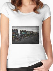 Cadillac ranch Women's Fitted Scoop T-Shirt