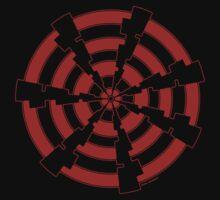 Mandala 30 Colour Me Red by sekodesigns