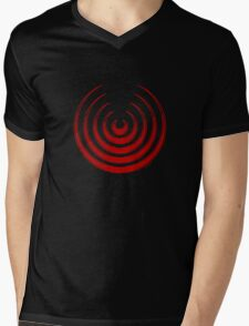 Mandala 8 Colour Me Red Mens V-Neck T-Shirt