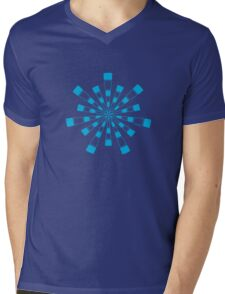 Mandala 31 Into The Blue Mens V-Neck T-Shirt