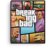 Breaking Bad: GTA (Clean) Canvas Print