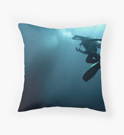 Hanging on the Deco Line Throw Pillow