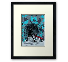 The Ice Awakens Framed Print