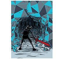 The Ice Awakens Photographic Print