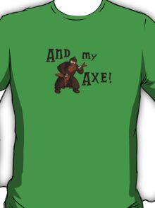 Gimli goes rock! T-Shirt