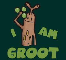 Sudowoodo I AM GROOT by zeephattony