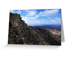 Mt. Buffalo... Greeting Card