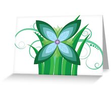 Floral Greenery Greeting Card