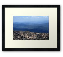 Mountains... Framed Print
