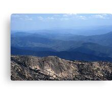 Mountains... Canvas Print