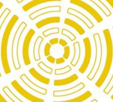 Mandala 32 Yellow Fever  Sticker