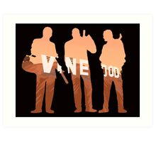 Vinewood Trio Art Print