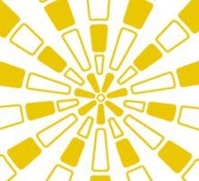 Mandala 31 Yellow Fever Sticker