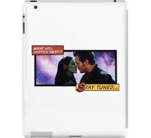 Peter & Gamora - Comic Style iPad Case/Skin