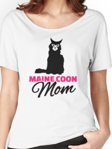 Maine coon cat mom Women's Relaxed Fit T-Shirt
