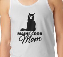 Maine coon cat mom Tank Top