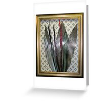 Glass Assemblage Greeting Card