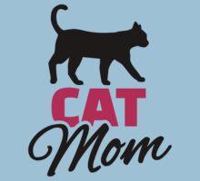 Cat mom Baby Tee
