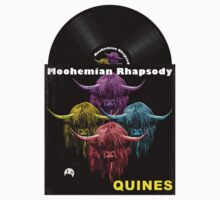 Highland Cows. Moohemian Rhapsody One Piece - Short Sleeve
