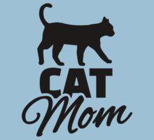 Cat mom One Piece - Short Sleeve