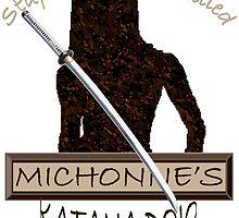 Michonne's Katana Dojo by violett216