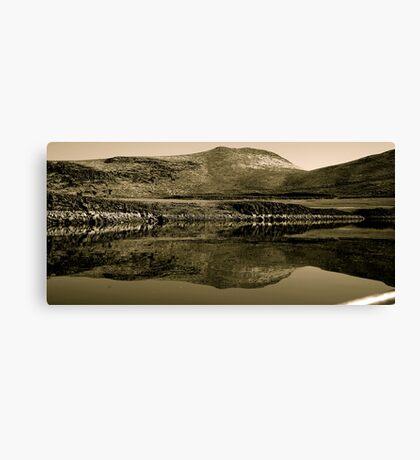 Mirror Of Magic Reservoir Canvas Print