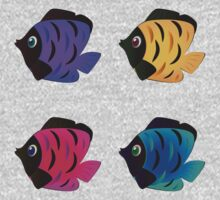 Colorful fishes 2 One Piece - Long Sleeve