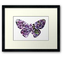 Flying lilac tree Framed Print