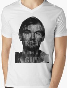 Jeffrey Dahmer Was Your Average White Guy Mens V-Neck T-Shirt