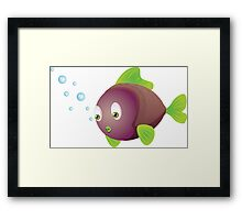 Colorful fish 3 Framed Print