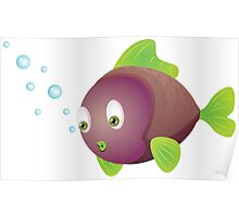 Colorful fish 3 Poster