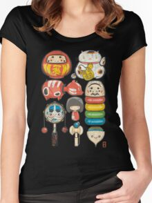 [Special Lucky Toy Box] Women's Fitted Scoop T-Shirt