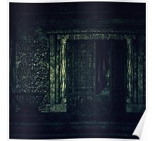 Cemetery Crypt Poster