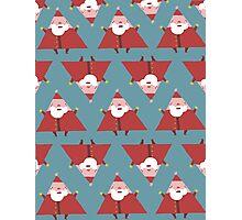 Santa's in Shape Photographic Print
