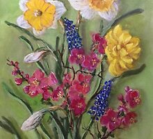 Spring Flowers by Randy  Burns