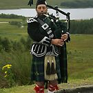 Scottish Piper by Mark Andrew Turner