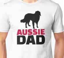Aussie Australian shepherd Dad Unisex T-Shirt