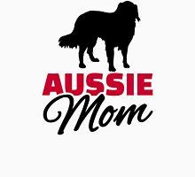 Aussie Australian shepherd Mom Womens Fitted T-Shirt