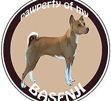 Property of my Basenji by IowaArtist