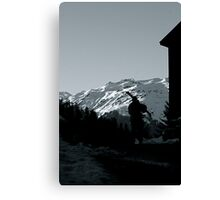 Gone Skiing Canvas Print