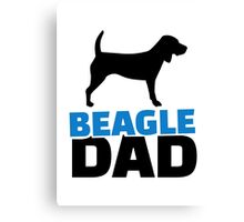 Beagle Dad Canvas Print