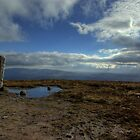 Pillar and Pool on top of Slievenamon 1 by Mark O'Toole