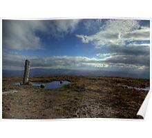 Pillar and Pool on top of Slievenamon 1 Poster