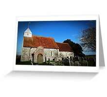 St Andrews Church FORD Greeting Card